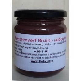 Bruin-aubergine - 150 gram